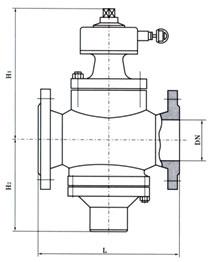 自力式平衡閥結構圖