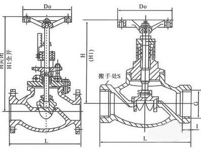 T40手动调节阀结构图