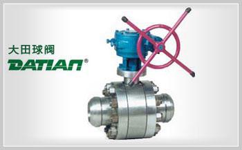 大田法兰钢制全焊接球阀标准规格