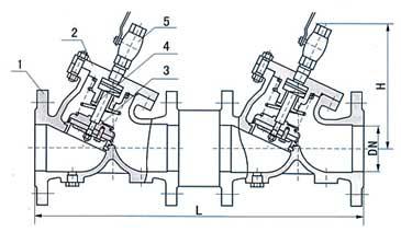 HS41X防污隔断阀结构图