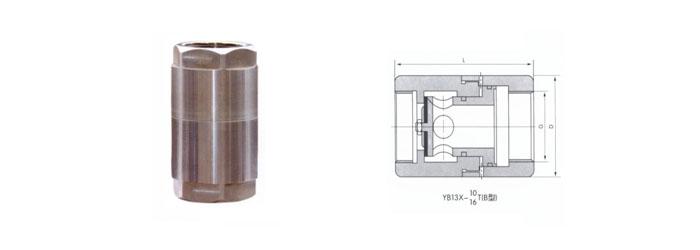 y13x型比例式减压阀结构图