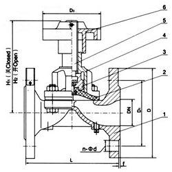 SEG41W 卫生级隔膜阀