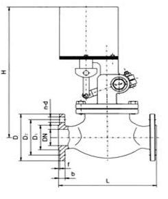 高温电磁阀结构图