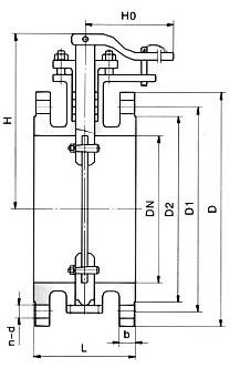 非密封型手动空气调节蝶阀