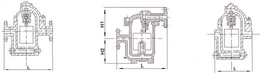 钟形浮子式疏水阀结构图