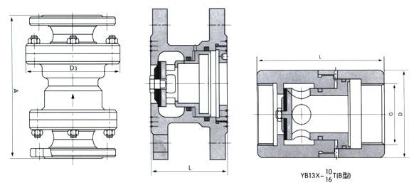YB43(1)X固定比比例式减压阀
