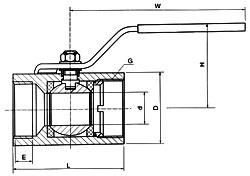 广式内螺纹球阀  - 阀门销售工程师 - 泵阀展
