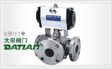 气动球阀应加强产品标准化制造
