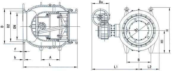 调节阀结构示意图