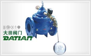 也能控制水位,绝不会让水位超过规定的位置,电动浮球阀可以设置启闭