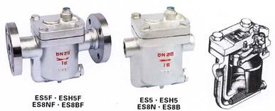 ES5(8,10)F型钟形浮子式倒吊桶式(CS45H)疏水阀